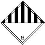 Class 9 label