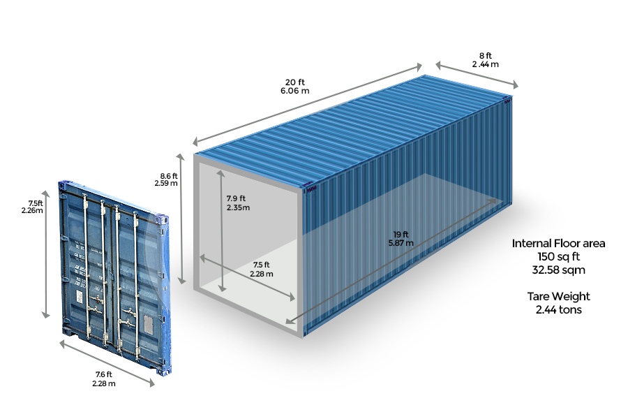 container dimensions metric voltrans logistics. Black Bedroom Furniture Sets. Home Design Ideas